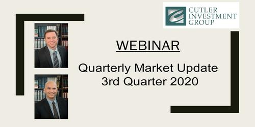 Webinar: Quarterly Market Update 3rd Quarter 2020