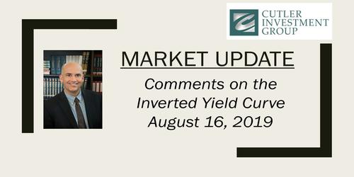Cutler Comments on the Inverted Yield Curve