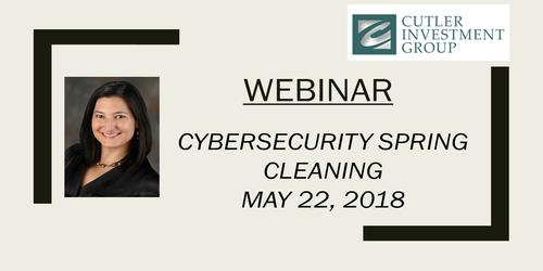 Webinar: Cybersecurity Spring Cleaning