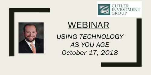 Webinar: Using Technology as you Age