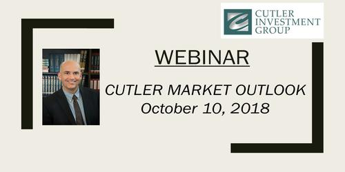 Webinar: Cutler's 3rd Quarter 2018 Market Outlook